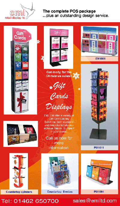 Gift Card Display Solutions