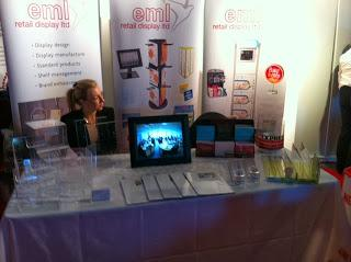 EML Retail Display took a stand at the Hertfordshire EXPO
