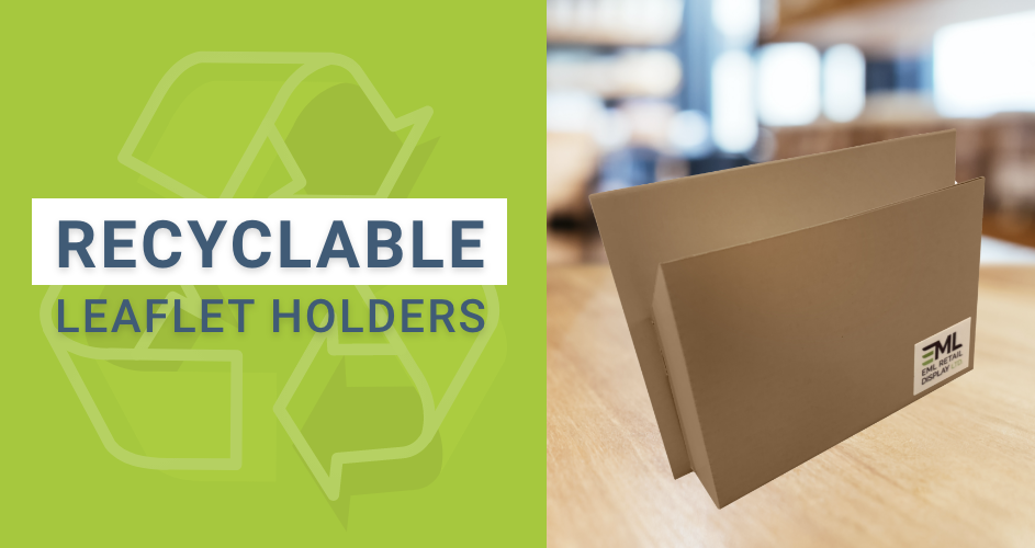Recyclable Leaflet Holder